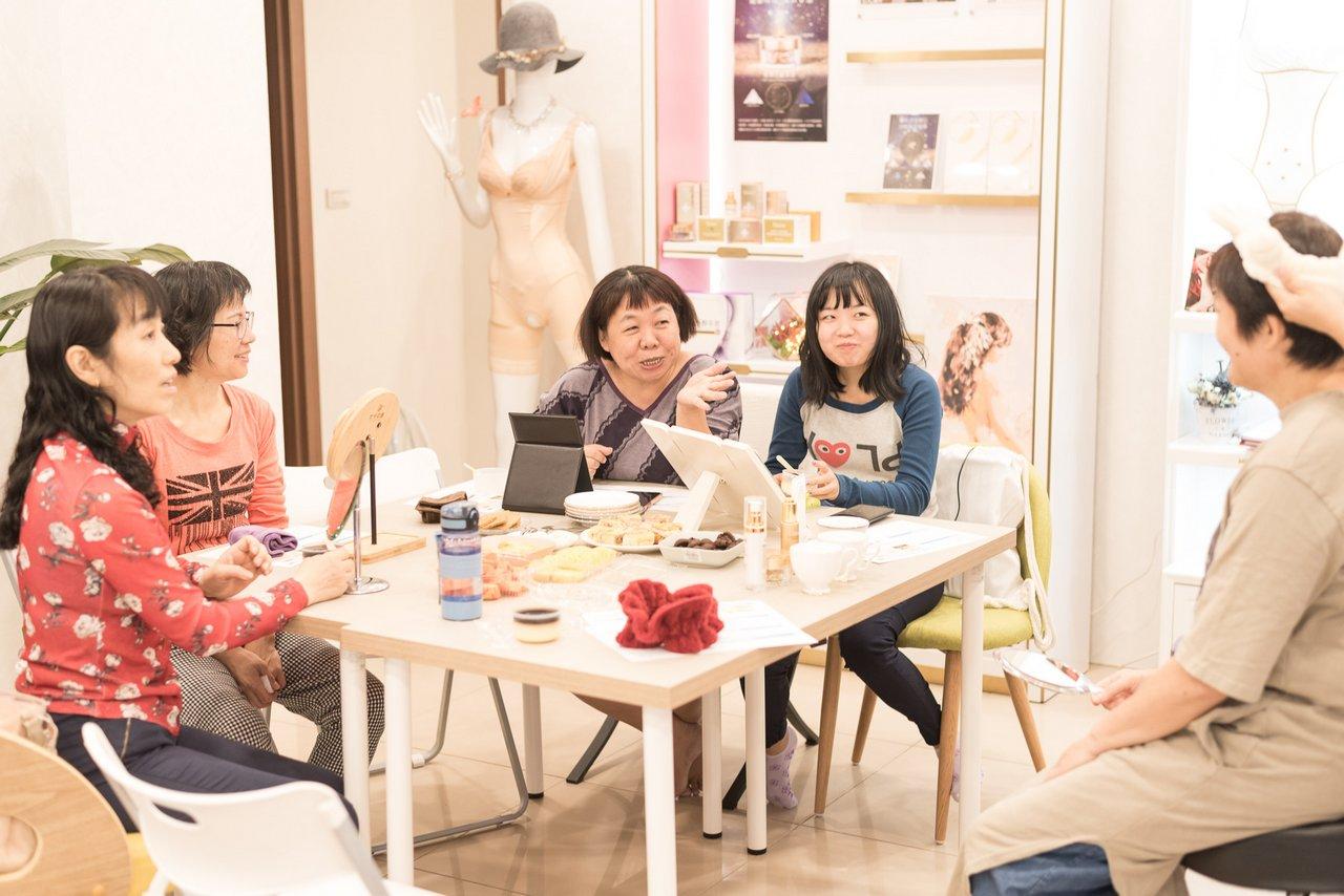 愛閃耀保養品體驗活動聚會 貞愛團隊聚會